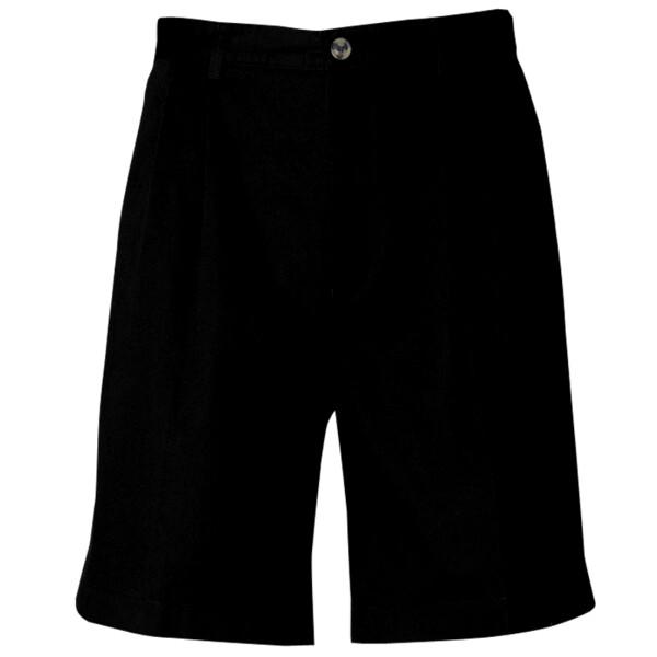 Henbury Teflon-Coated Double Pleat Front Chino Shorts