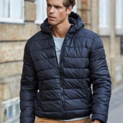 Tee Jays Mens Hooded Zeplin Jacket Thumbnail