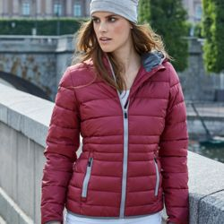 Tee Jays Ladies Hooded Zepelin Jacket Thumbnail