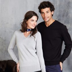 Women's v-neck jumper Thumbnail