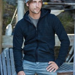 Tee Jays Mens Urban Hooded Fleece Thumbnail