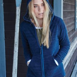 Tee Jays Ladies Urban Hooded Fleece Thumbnail