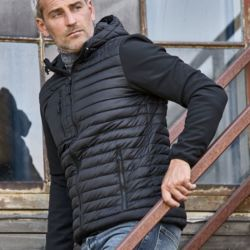 Tee Jays Mens Hooded Crossover Jkt Thumbnail