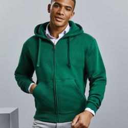 Russell Authentic zipped hooded sweat Thumbnail