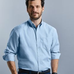 Long sleeve Easycare Oxford shirt Thumbnail
