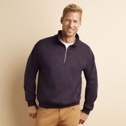Gildan Heavy Blend™ cadet collar sweatshirt Thumbnail
