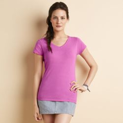 Gildan Softstyle® women's v-neck t-shirt Thumbnail