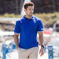 Henbury Double tipped Coolplus® polo shirt Thumbnail