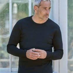 Tee Jays Mens Long Sleeve Interlock Tee - 530 Thumbnail