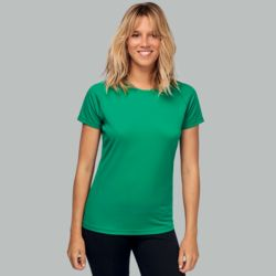 Women's short sleeve sports t-shirt Thumbnail
