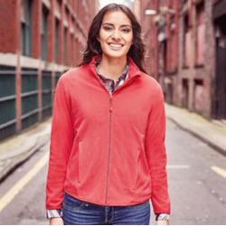 Russell Women's full-zip fitted microfleece Thumbnail