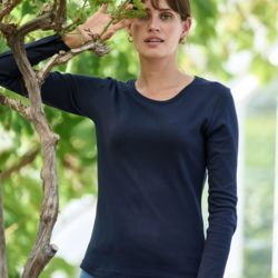 Tee Jays Lady Long Sleeve Interlock Tee - 590 Thumbnail
