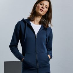Russell Ladies Authentic Zipped Hoodie Thumbnail