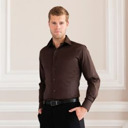 Russell Long sleeve easycare fitted shirt - 946M Thumbnail