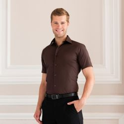 Russell Short sleeve easycare fitted shirt - 947M Thumbnail