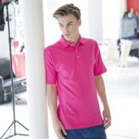 Henbury Classic cotton piqué polo with stand-up collar Thumbnail