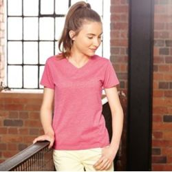 Russell Girls v-neck HD T Thumbnail