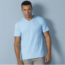 Gildan Premium cotton adult v-neck t-shirt Thumbnail