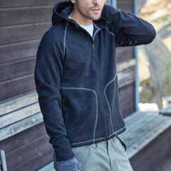 Tee Jays Men's Hooded Aspen Fleece Thumbnail