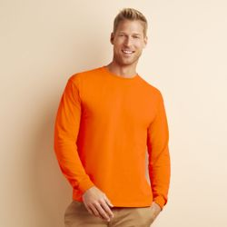 Gildan Ultra Cotton™ adult long sleeve t-shirt Thumbnail