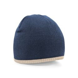Two-tone pull on beanie Thumbnail