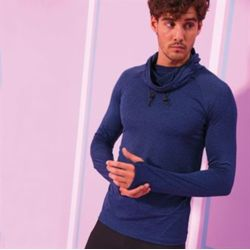 AWD Cool cowl neck top Thumbnail