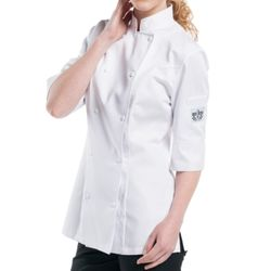 Chaud Devant Lady Comfort 3/4 Sleeve Chef's Jacket Thumbnail