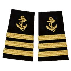 Anchor Epaulettes Three Stripe Thumbnail