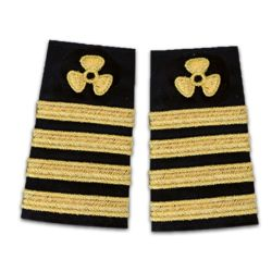 Chief Engineer's Epaulettes Propeller Four Stripe Thumbnail