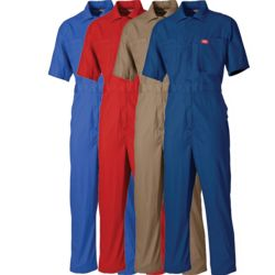 Dickies Lightweight Cotton Short Sleeve Coverall Thumbnail