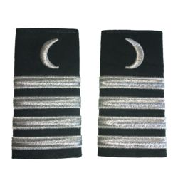Epaulettes - Silver Moon, Four Stripes Thumbnail