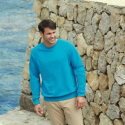 Men's Lightweight Raglan Sweatshirt Thumbnail