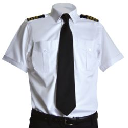 Custom Men's Pilot Shirt With Chest Pockets Thumbnail