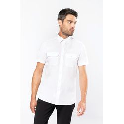 KB503 Kariban Mens Pilot Shirt Thumbnail