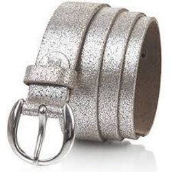 Lindenmann  Slim Ladies Metallic Effect Belt Thumbnail