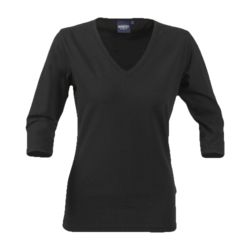 Harvest Ladies Lynn 3/4 sleeve v-neck t-shirt Thumbnail