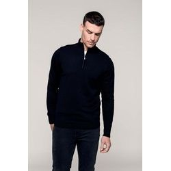 Kariban Men's Zip Neck Pullover Thumbnail