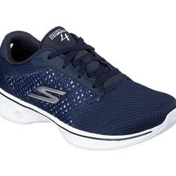 Skechers Ladies GOWalk 4 Exceed Trainer Thumbnail