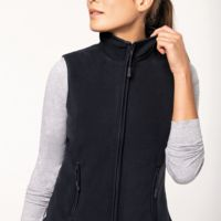 Melodie zip-through microfleece gilet Thumbnail