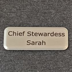 Metal Badge with Magnet Thumbnail