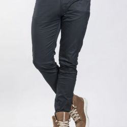 Chaud Devant Skinny REG Black Stretch Chef Pants Thumbnail
