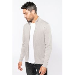 Kariban Zipped Cardigan Thumbnail