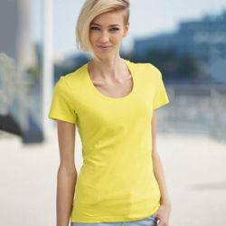 JN stretch scoop neck t-shirt Thumbnail