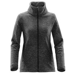 Stormtech Tundra ladies full zip knitted Fleece Thumbnail