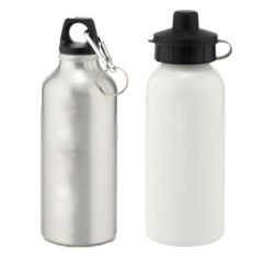 Customised Water Bottle with Two Cap Styles Thumbnail