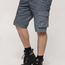 Multi pocket workwear bermuda shorts Thumbnail