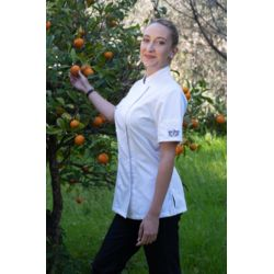 Chaud Devant Lady Comfort Short Sleeved Chef's Jacket Thumbnail
