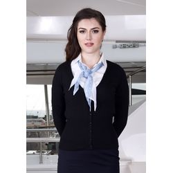 Russell Ladies V-neck Knitted Cardigan Thumbnail